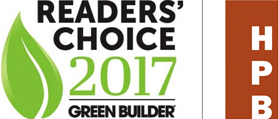 Readers' Choice 2017 Green Builder