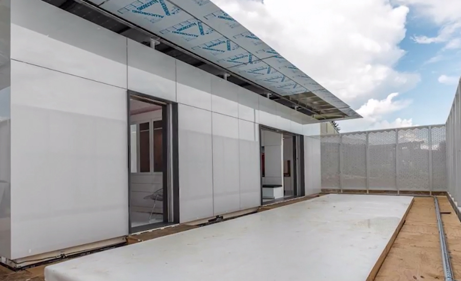 Mitsubishi Electric Prefabricated home